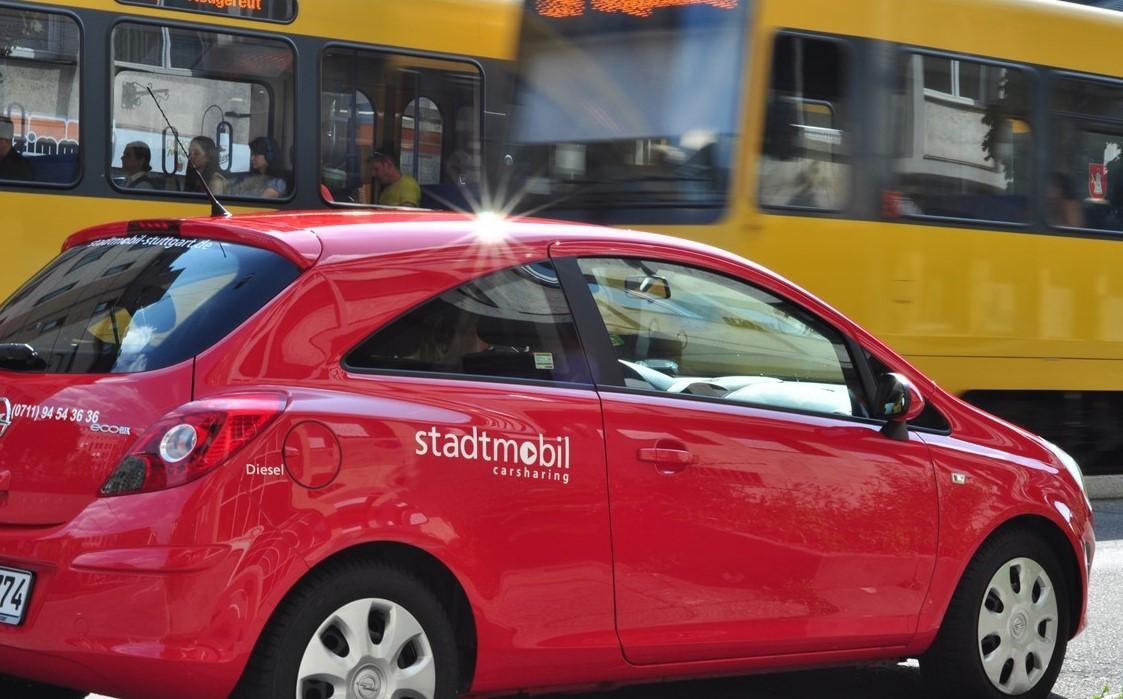 CarSharing und ÖPNV ergänzen sich (Bild: stadtmobil Stuttgart)